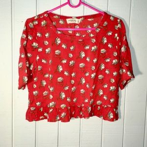 Abercrombie and Fitch crop top. Size medium